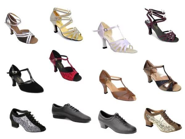 Как выбрать туфли для бальных танцев