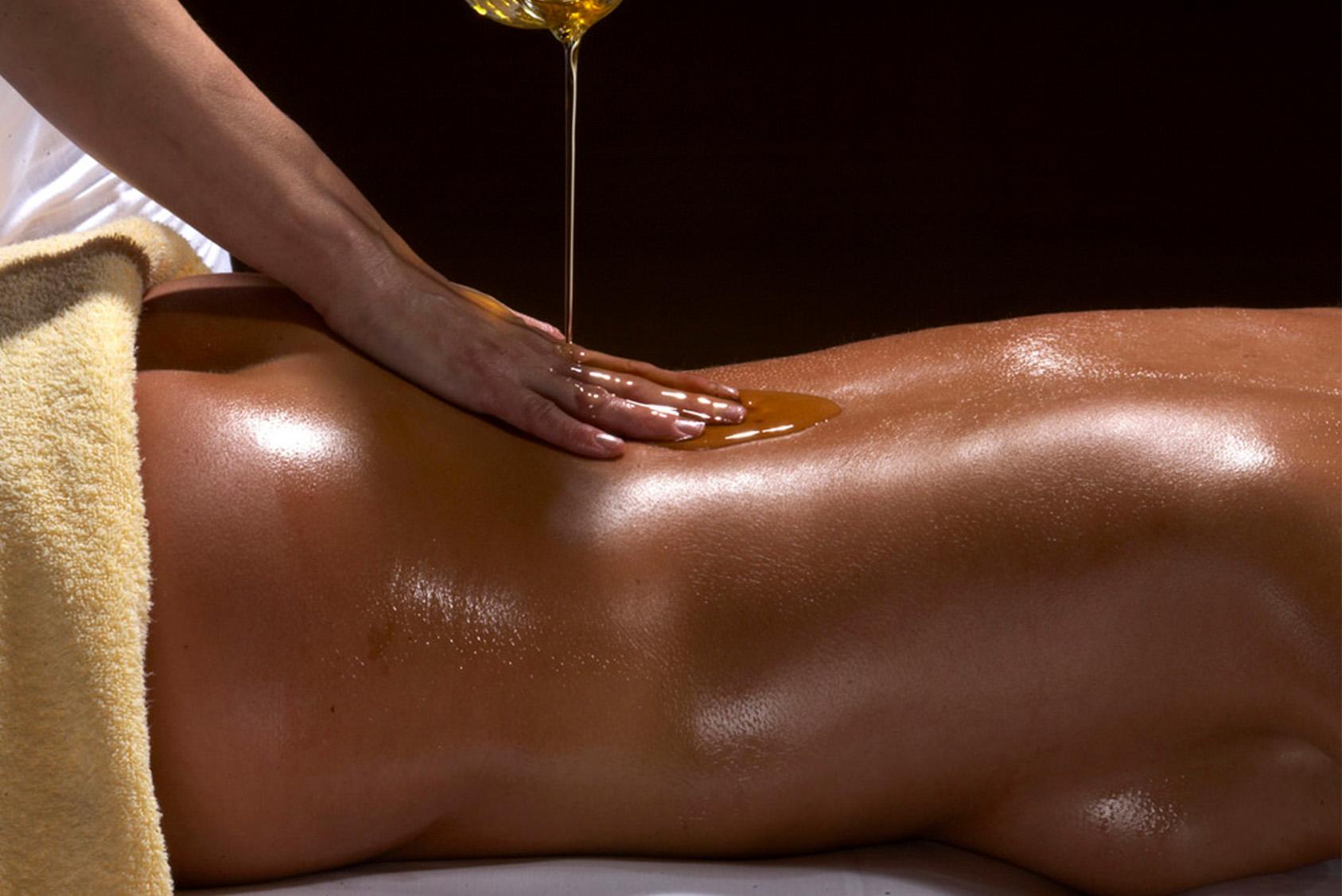 Oiled Massage